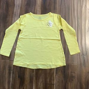 Girls Carters Long Sleeve Top